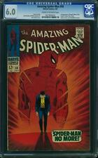 AMAZING SPIDER-MAN #50 CGC 6.0 1st Kingpin! Origin retold!