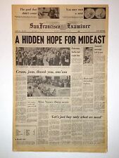 HIDDEN HOPE FOR MIDEAST - 11/30/1974 - IRISH WAR, Stevie Wonder, Nixon Illness