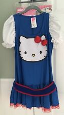 Hello Kitty Women's Costume  Women's Sz M  Halloween Rubie's  Dress