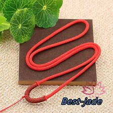 4 colors Hand Woven Braided Line Rope String Cord for Pendant Necklace gift Red