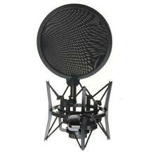 Audio Condenser Microphone Mic Studio Recording W/Shock Mount for iphone/ipad DD