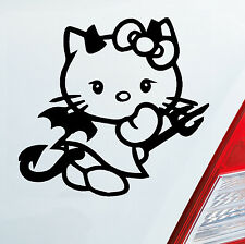 Autocollant HELLO Diable Kitty Sticker TUNING, RÉF. FABRICANT 244