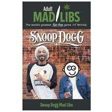 Adult Mad Libs: Snoop Dogg Mad Libs by Sarah Fabiny (2013, Paperback)
