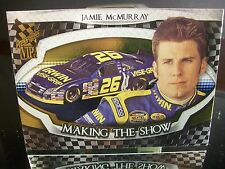 Insert Jamie McMurray Press Pass VIP 2006 Card #MS 9/25 MAKING THE SHOW