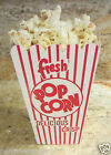 POPCORN Snack Boxes/Tubs/Containers for Treat Parties/Home Theatre/Movies=25 LRG