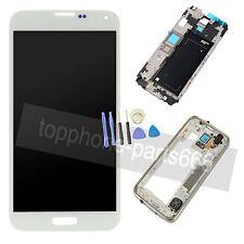 Pantalla Tactil LCD Digitalizador Reemplazo + Marco Para Samsung Galaxy S5 G900f
