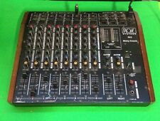 Ross 8x2 Mixing Console - 8 Channel Mixing Console