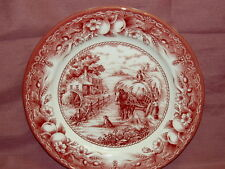 ROYAL STAFFORD Harvest Home Red~  Dinner Plate~New~Made in England