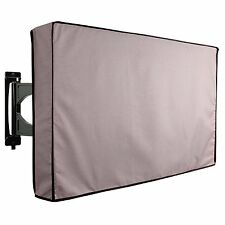 """Outdoor 50"""" 52 INCH LCD LED TV Cover Grey Weatherproof Universal Protector NEW"""