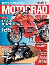 M9617 + HONDA CBR 1100 XX + Test HONDA NX 650 Dominator + MOTORRAD 17 1996