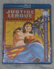 Justice League: Season One 1 (Batman & Superman) - Blu-Ray Box Set NEW SEALED