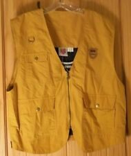 K-Swiss Orange Lined Vest for Outdoor Use NWT, Mens M