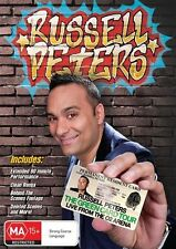 RUSSELL PETERS THE GREEN CARD TOUR LIVEFROM O2 ARENA DVD BRAND NEW SEALED!
