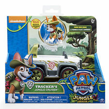 PAW Patrol Jungle Rescue Tracker's Jungle Cruiser Vehicle and Figure Set Pup Box