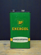 Vintage BP Energol 5 litre oil can