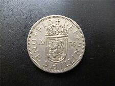 1956 SCOTTISH SHILLING COIN, IN GOOD USED CONDITION, COPPER NICKEL.1956 SHILLING