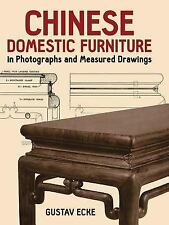 Chinese Domestic Furniture in Photographs and Measured Drawings by Gustav...