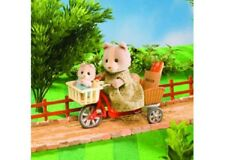 Sylvanian Families =Cycling with Mother= Miniature Toy NEW