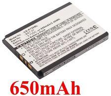 Batterie Pour SONY ERICSSON BST-37 D750 D750i, J210i J220a  J220c J220i 650mAh