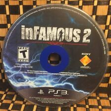inFamous 2 (Sony PlayStation 3, 2011) USED (DISC ONLY) #10415