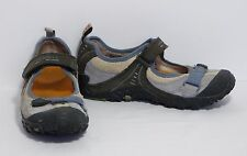 Merrell Chameleon Arc Mary Jane Blue Nubuck Suede Leather Shoes Women's 9 VGC