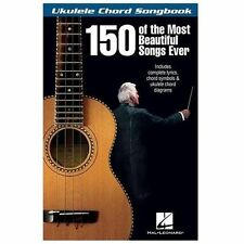 150 Of The Most Beautiful Songs Ever - Ukulele Chord Songbook, , Good Book