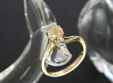 18CT GOLD OLD CUT DIAMOND ENGAGEMENT STYLE RING! DIAMOND APPROX 0.30-0.40CT!