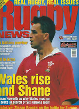 RUGBY NEWS (UK) FEBRUARY 2000 MAGAZINE