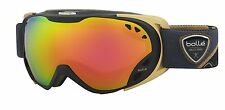 Boll Women's Duchess Ski Goggles Black/gold Rose Gold Medium