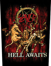 Slayer-chiaro awaits-schiena ricamate patch BACK