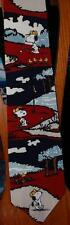Peanuts Silk Neck Tie Collection SNOOPY'S MY NAME GOLFING'S MY GAME_ EUC