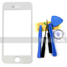 White Front Replacement Part Lcd Glass Tools Kit Screen Repair for iPhone 5 5S