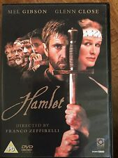 Mel Gibson HAMLET ~ 1990 William Shakespeare / Franco Zeffirelli Classic UK DVD