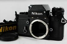 【EXC+++++】Nikon F2 Photomic Black Film Camera W/ AS-1 From Japan #A319