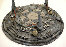 "WARHAMMER WAR GAME CHAOS SCENERY ""BIG ARCANE  MAGICAN ALTAR"" MASTER PAINTED"