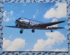 DELTA AIR LINES - DC-3 SHIP 41 AIRCRAFT PHOTO BROCHURE