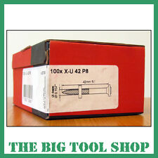 HILTI 42MM GENUINE NAILS FOR HILTI DX460 X-U 42 P8 237336