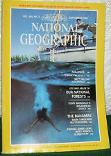 NATIONAL GEOGRAPHIC SEPT 1982 AVALANCHE,FORESTS,BAHAMAS
