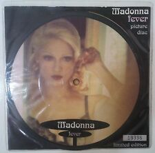 "Madonna Fever Single 7"" UK 1993 ed. fotodisco numerada con encarte a color"