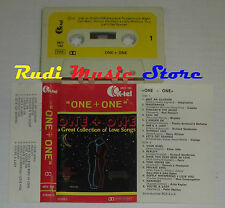 MC ONE+ONE a great collection of love songs GAZEBO HARRY NILLSON cd lp dvd vhs