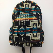 Native RASTA Bag Beach Hippie Baja Ethnic Padded Backpack Made in Ecuador Indian