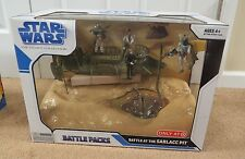 STAR WARS LEGACY COLLECTION BATTLE AT THE SARLACC PIT BATTLE PACKS (MISB) TARGET