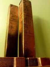 Rare Original World Trade Center 1970's! pre- antenna souvenir building copper!