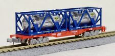 KATO 8042 container wagon, JRF koki200 with UT11C tanks, n scale, ships from USA