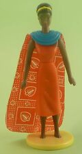 Mattel McDonald's BARBIE Africana 1997 + base - mc donald loose