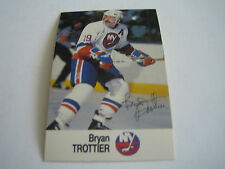 1988/89 ESSO NHL ALL-STAR COLLECTION BRAD TROTTIER CARD***NEW YORK ISLANDERS***
