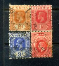 Nigeria 4 Old Stamps