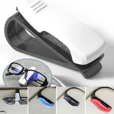 Cool! Car sunglasses spectacles holder clip sun visor New random colours