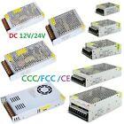 CE 1A/2A/3A/5A/10A/20A/30A AC/DC 12V/24V Switching Power Supply F/LED Strip CCTV