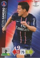 U95 KEVIN GAMEIRO PARIS.SG PSG  CARD CHAMPIONS LEAGUE ADRENALYN 2013 PANINI